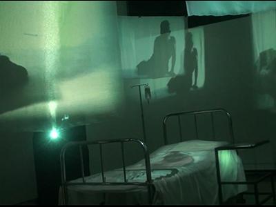 La Cama Vacía – Video Instalación